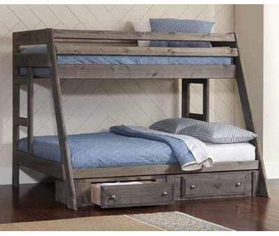 Coaster Wrangler Twin Over Full Bunk Bed Full Bunk Beds Twin