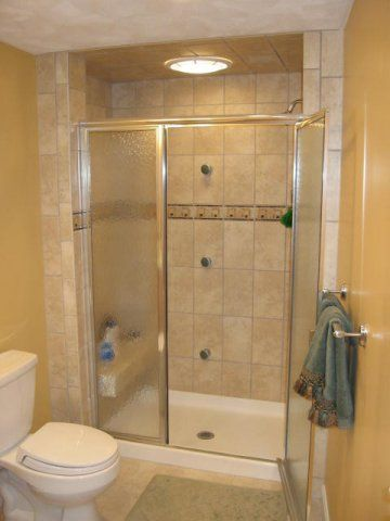 Updated Shower And Vanity Room Onyx Shower Base Tile From World Of - Acrylic tiles for bathrooms