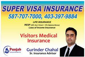 Super Visa Insurance Visitor Medical Insurance 587 707 7000