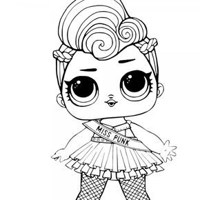 Cute Lol Surprise Doll Coloring Pages Miss Punk Unicorn Coloring Pages Coloring Pages Fall Coloring Pages