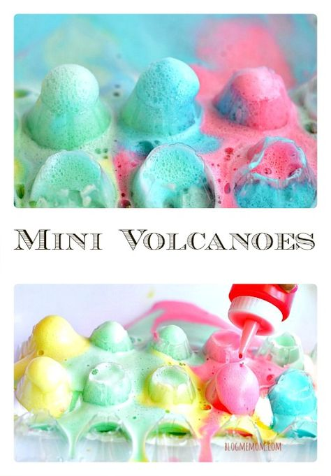 Mini colorful eruptions from Blog Me Mom