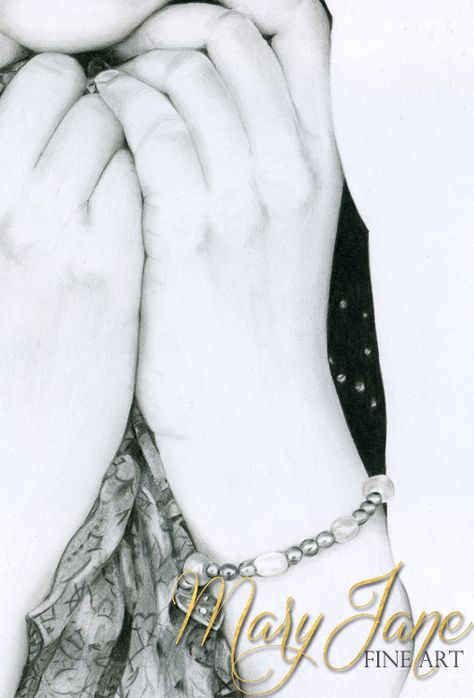 Hope colored pencil drawing