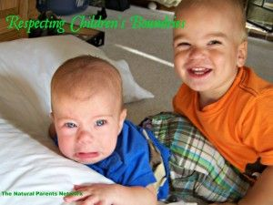Respecting Children's Boundaries