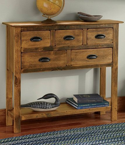 Rustic Wooden Hall Console Rustic Entryway Table At Home Furniture Store Rustic Furniture