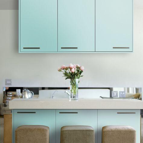 Mit Küchenmöbellack lässt sich eine alte Küche neu gestalten Mit - alte k chenfronten erneuern