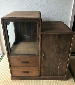 Cabinet Japanese Furniture Chadansu Tea Chest 1950s Ebay