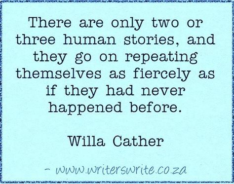 Quotable - Willa Cather - Writers Write Creative Blog
