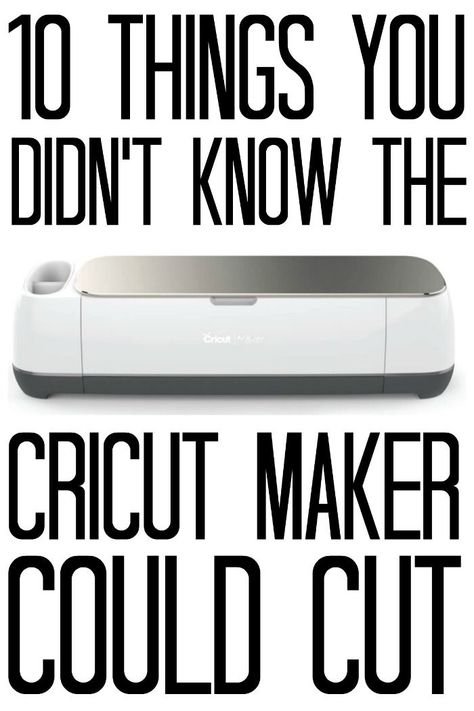 10 Things You Didn't Know The Cricut Maker Could Cut - you can cut so much with this machine! You are in the right place about Cricut svg Here we offer you the most beautiful p Cricut Craft Room, Cricut Vinyl, Cricket Machine, Cricut Blades, Cricut Help, Country Chic Cottage, Country Living, Cricut Explore Air, Cricut Tutorials