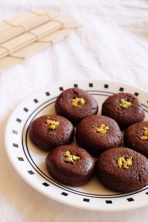 Chocolate Peda – Easy Diwali Sweet Recipe