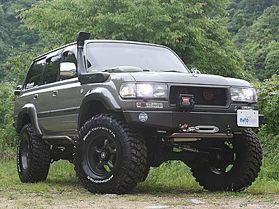toyota land cruiser 100 off road - google search | defender vs