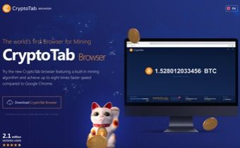 Ey everybody Check out the brand new CryptoTab browser You just
