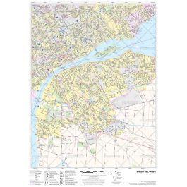Street Map Of Windsor Ontario Canada Street Map of Windsor ON   Ontario map, Windsor map, Canada map
