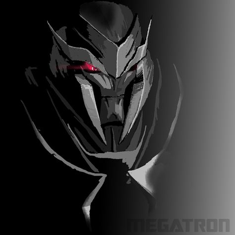 Lord Megatron looking cool  Because you need to born as a legend