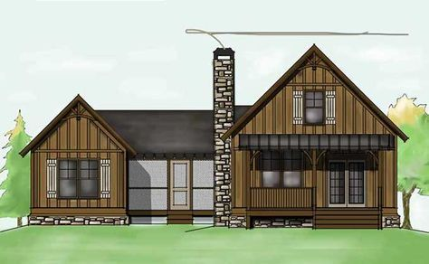 Dog Trot House Plan Dogtrot Home Plan By Max Fulbright Designs Dog Trot House Dog Trot House Plans Camp House