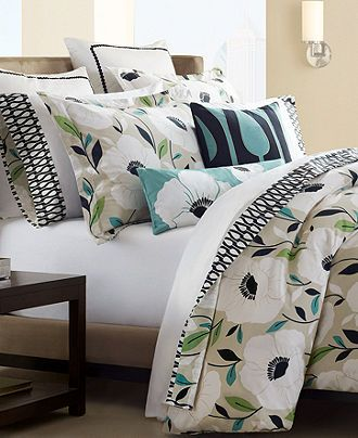 Love This Bedding Set With Navy Green And Cream Fav For Sure