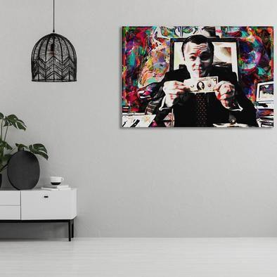 Wolf Of Wall Street Canvas Art Wolf Of Wall Street Canvas Art Art