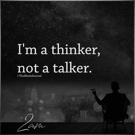 I'm A Thinker