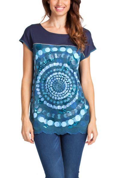 Y Tunic TopsWomen Camisetas De Tops MujerDesigual xrdshQCt