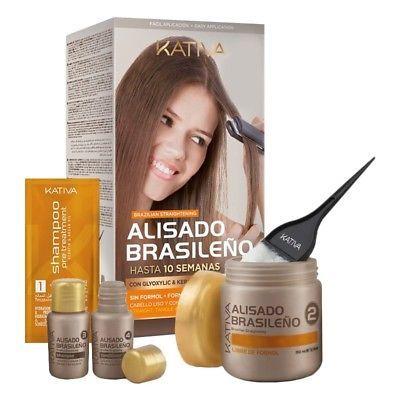 Ad Kativa Keratin Argan Oil Kit Brazilian Straightening