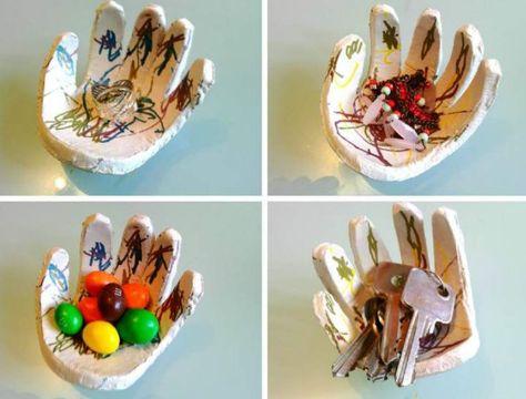 Ce tutoriel décrit comment réaliser une coupelle avec les enfants.