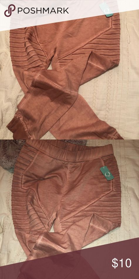 Pink Pant Leggins New never used Pink Pant leggings. Would be great to workout ! Q Pants Track Pants & Joggers