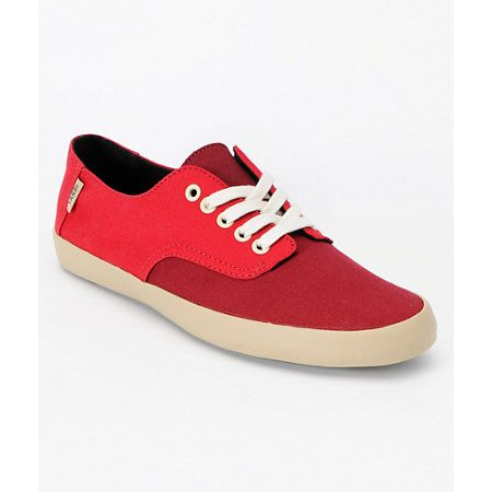 a2057c892d Vans E-Street Chili Pepper   Biking Red Shoes