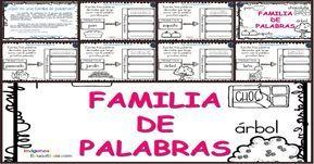 Pin De Juan Carlos Latorre En Familia De Palabras Familia De Palabras Palabras Familia