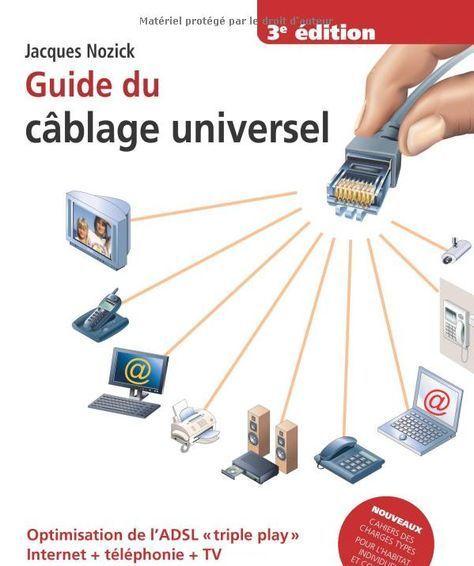 Guide du câblage universel pour la maison Electricité Pinterest