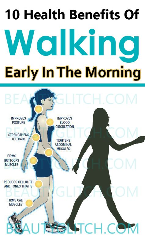 10 Health Benefits Of Walking Early In The Morning
