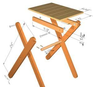 Plans For Small Folding Table Mesa Dobravel Madeira Como Fazer Mesa Mesa Dobravel
