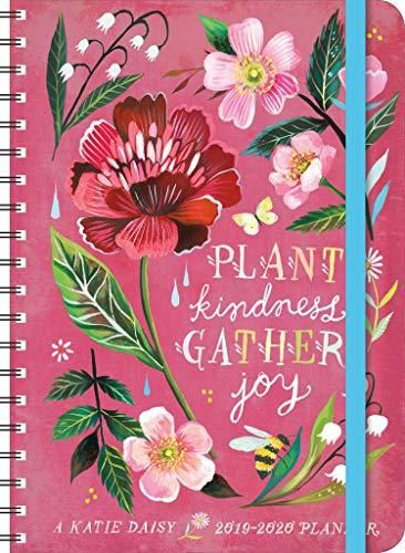 Download Pdf Katie Daisy 2019 2020 On The Go Weekly Planner 17 Month Calendar With Pocket Aug 2019 Dec 2020 5 X 7 C Weekly Planner Free Ebooks Planner