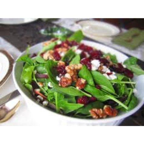 Sonoma Farm California Strawberry Balsamic, Walnut, Feta Salad Recipe...adjust for whole 30