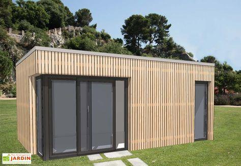 Bungalow Design Studio Avec Baie D Angle Porte 635x375 Bungalow Permis De Construire Design Studio