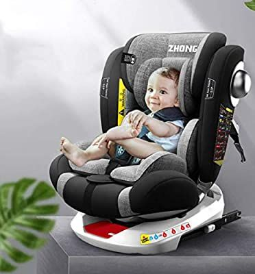Asiento De Seguridad Para Bebé Con Isofix Asiento De Seguridad Para Niños 0 A 12 Años Rotación De 360 Ca Seguridad Para Niños Asientos De Coche De Bebé Niños