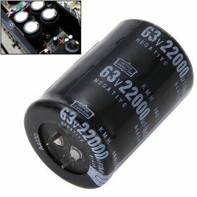 1x Electrolytic Capacitor Cylindrical 63v 22000uf Aluminum Diy 35 50mm Equipment Electrolytic Capacitor Capacitor Aluminum