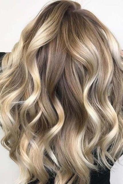 Braun strähnen blond 50 Stilvolle