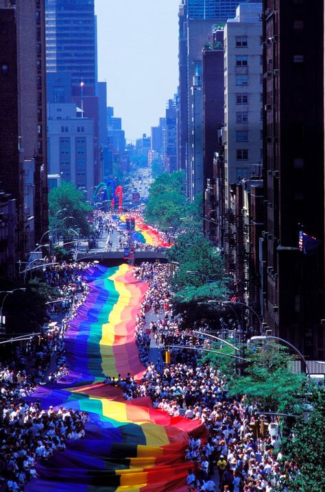 A New York City parade on June 26, 1994, marked Stonewall's 25th anniversary
