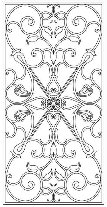 Design Library Tableaux Decorative Grilles For Residential Design Glass Painting Patterns Colorful Drawings Islamic Art Pattern