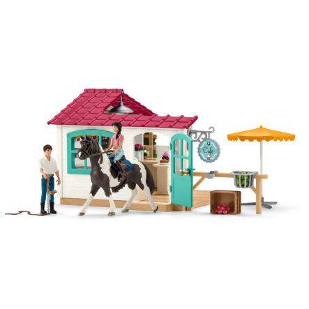 Schleich Ruiter Cafe 42519 Kinderspeelgoed Cafe Autostoel