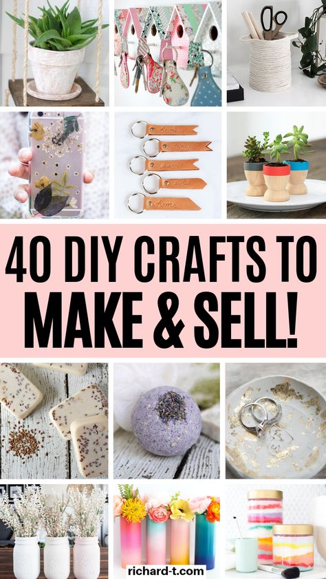 diy crafts to sell \ diy crafts ; diy crafts for the home ; diy crafts for kids ; diy crafts to sell ; diy crafts for adults ; diy crafts for the home decoration ; diy crafts to sell easy Money Making Crafts, Easy Crafts To Sell, Diy Crafts For Adults, Sell Diy, Diy Crafts Videos, Creative Crafts, Diy Crafts For Kids, Kids Diy, Make To Sell