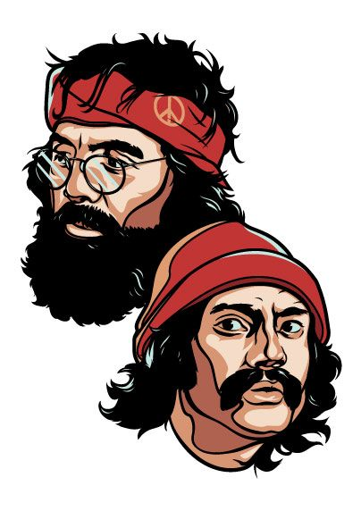 Image result for cheech and chong
