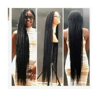 Braided Wigs Lace Frontal Hair Sergio Ramos Hairstyle Khule Balo Ki Hairstyle Mrs Doubtfire Wig Box Br Human Hair Ponytail Extensions Box Braid Wig Long Braids