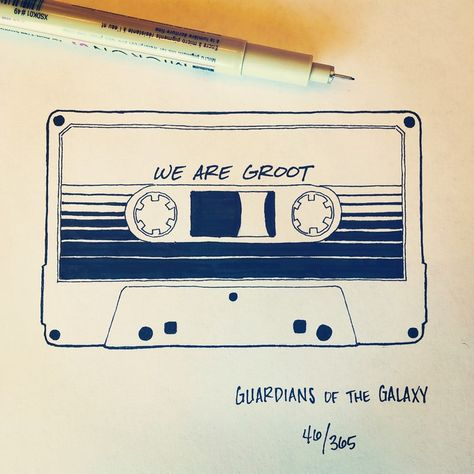 Artist Spends 365 Days Hand-Drawing 365 Movie Quotes