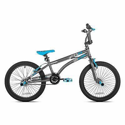 X Games Fs20 Single Speed 20 Inch Wheel Freestyle Trick Bmx Bike Dark Grey 16751820286 Ebay Bmx Bikes Bmx Bmx Freestyle