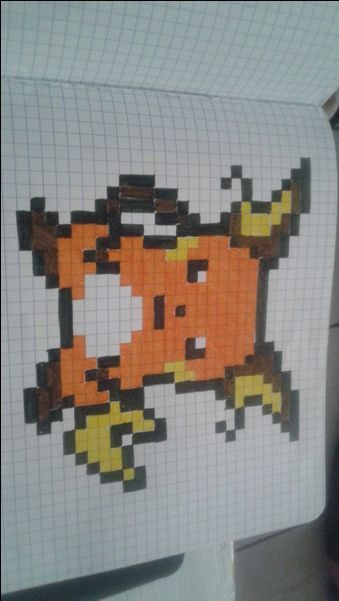 Raichu Pixel Art 8 Bit Art Art Pages