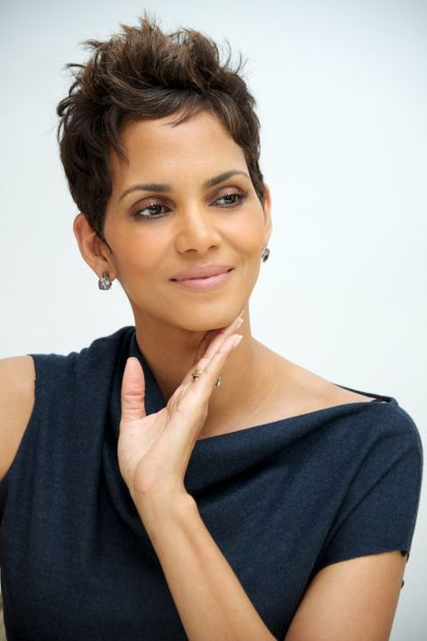 More Halle Berry Hair!