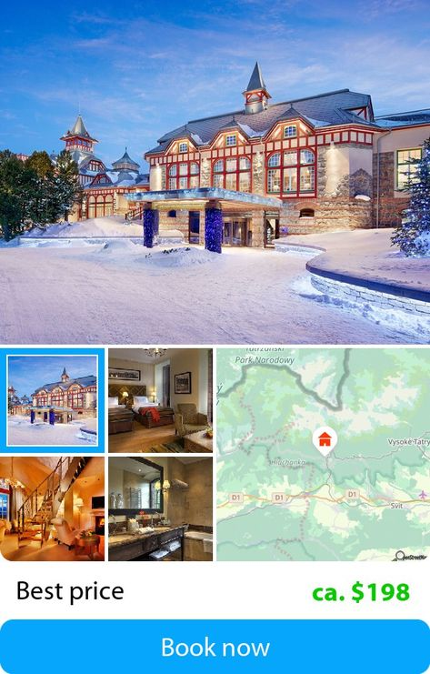 Grand Hotel Kempinski High Tatras Strbske Pleso Slovakia Book This Hotel At The Cheapest Price On Sefibo High Tatras Grand Hotel Hotel