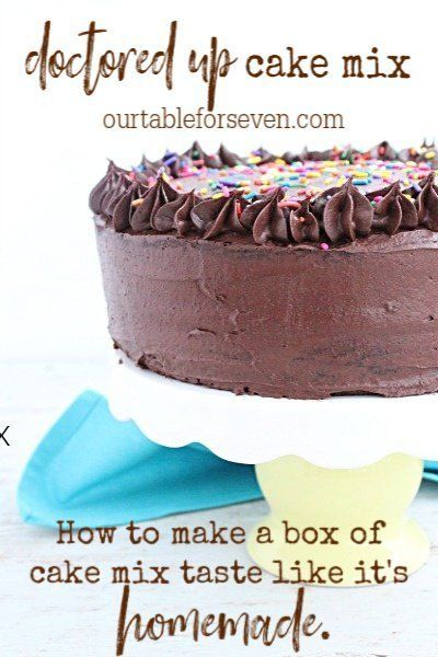 Doctored Up Cake Mix Recipe With Images Cake Mix Vegetarian