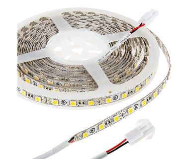 Led Strip Lights 12v Led Tape Light With Lc2 Connector 375 Lumens Ft Led Tape Lighting Led Strip Lighting Flexible Led Strip Lights