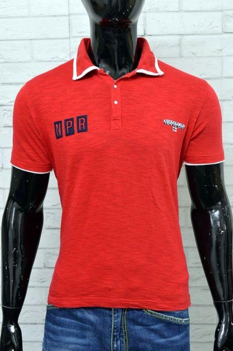 NAPAPIJRI T-Shirt Polo Uomo
